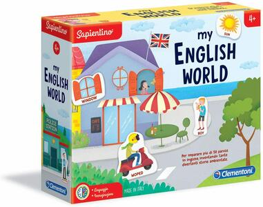 Sapientino - my English World - Clementoni 16139 - 4+ anni