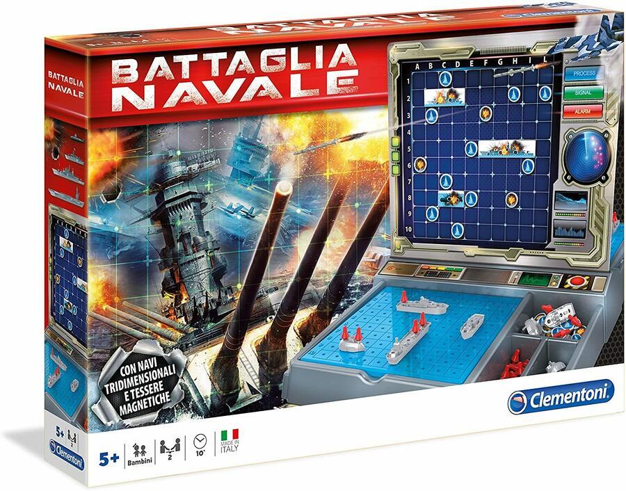 Battaglia Navale - Clementoni 11133 - 5+ anni