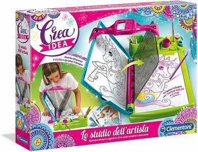 Crea Idea - Lo studio dell'artista - Clementoni 15190 - 7+ anni