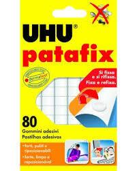TAC PATAFIX GOMMA ADESIVA BLISTER 80 GOMMINI UHU