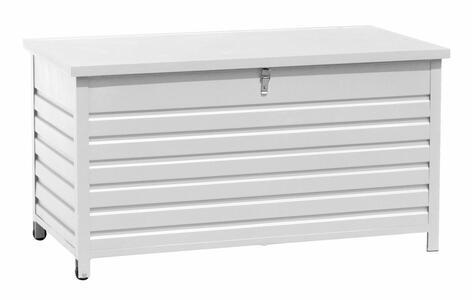 Box portacuscini da esterno in alluminio 138 x 72 x 72 modello MEMPHIS codice MBX 01 B