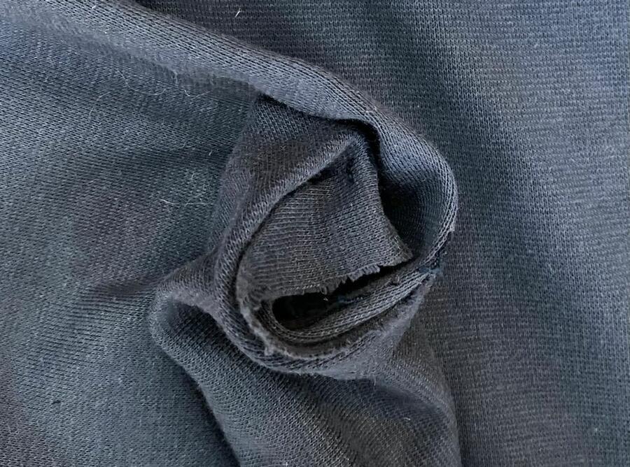 Maglina Jersey cotone BIOLOGICO blu