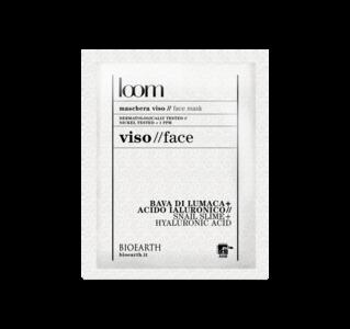 Maschera viso alla Bava di lumaca + acido jaluronico
