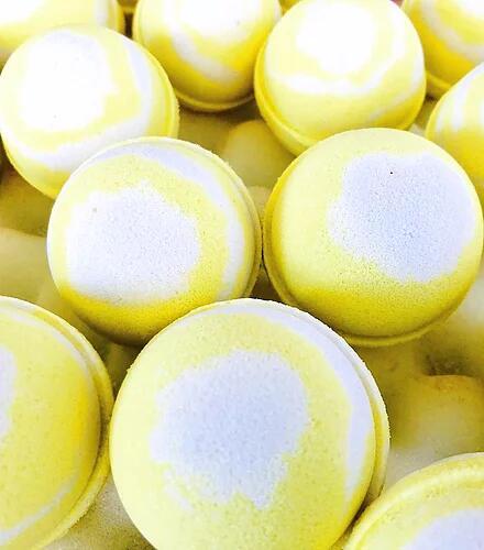 Bomba da bagno al limone