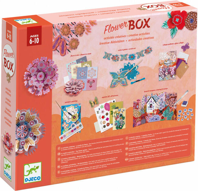 Box Creativo Il giardino dei fiori