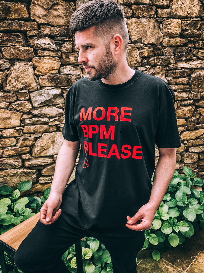 T-SHIRT BPM RED