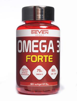 OMEGA 3 FORTE - olio di pesce - 90 softgel
