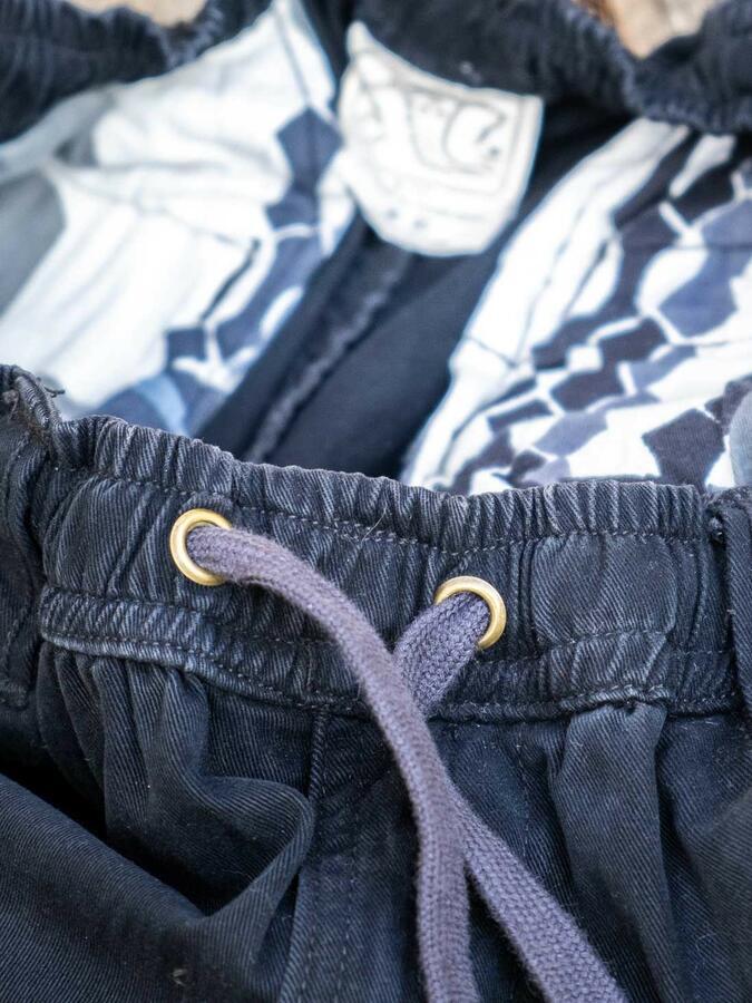 Jayant men's long jeans trousers – black