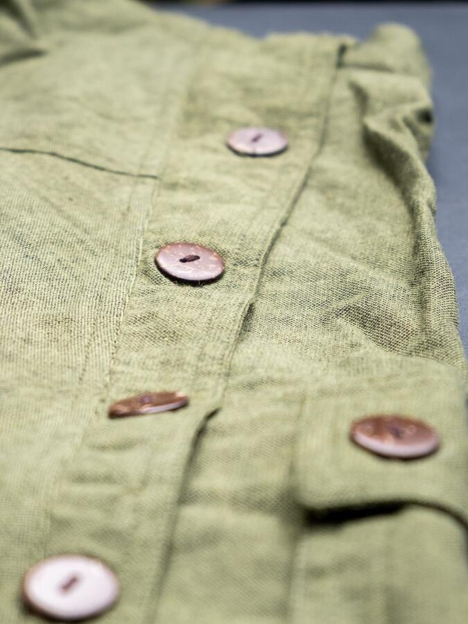 Pantalón hombre largo de entrepierna baja Praney - verde