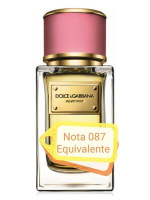 Nota 087 ricorda Vevet Rose Dolce & Gabbana