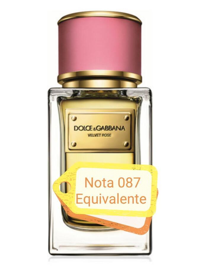 Nota 087 ricorda Velvet Rose Dolce & Gabbana
