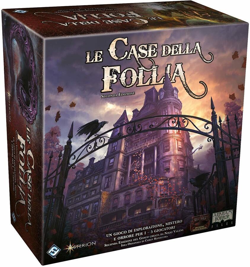 Le Case della Follia 2° edizione Gioco Base - Asmodee MAD20 - 14+ anni
