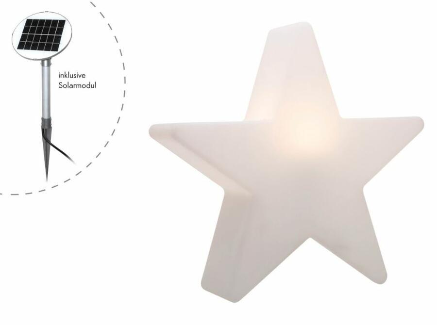 Lampada da Terra Shining Star con Modulo Solare Ø 60 cm di 8 Seasons Design - Offerta di Mondo Luce 24