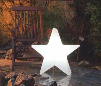 Lampada da Terra Shining Star Ø 80 cm di 8 Seasons Design, Varie Finiture - Offerta di Mondo Luce 24