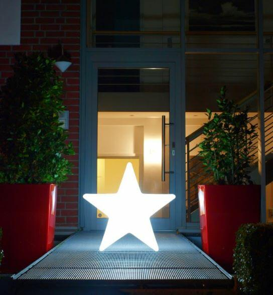 Lampada da Terra Shining Star con Modulo Solare Ø 80 cm di 8 Seasons Design - Offerta di Mondo Luce 24