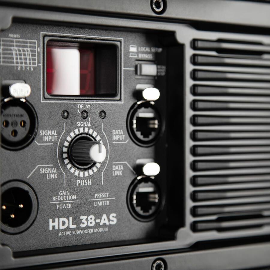 RCF HDL 36-AS MODULO SUBWOOFER ATTIVO DA SOSPENSIONE