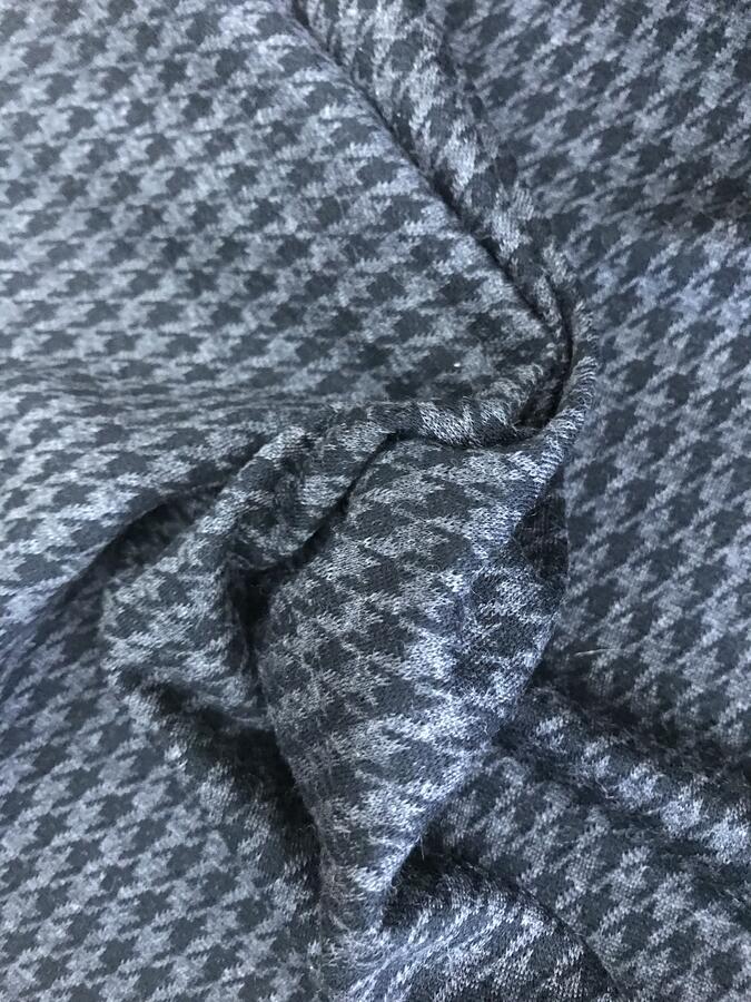 Maglina Jersey BIO pied de poule nero/grigio