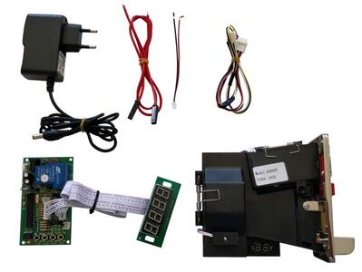 Kit Gettoniera multimoneta euro / Input 12Vcc / Output NA