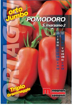 Semi di Pomodoro S. Marzano 2 Orto Jumbo
