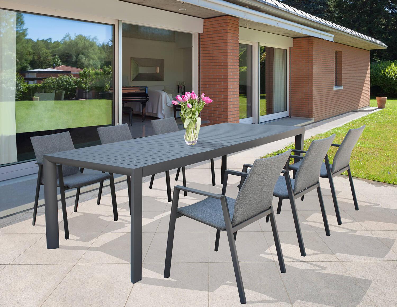 Offerta! 🚨 Tavolo da giardino in alluminio allungabile ...