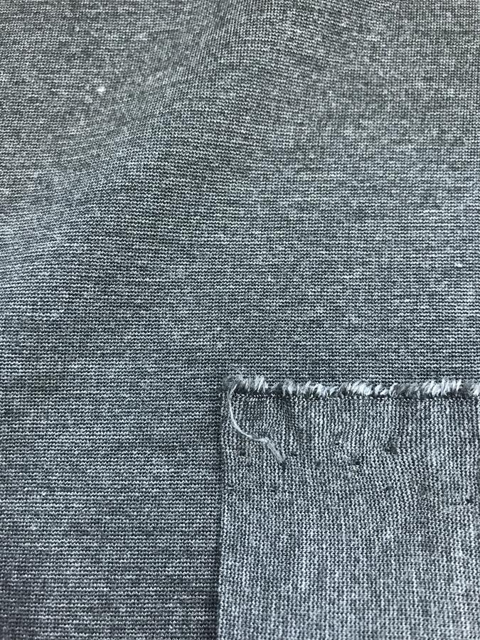 Maglina Jersey punto Milano grigio melange