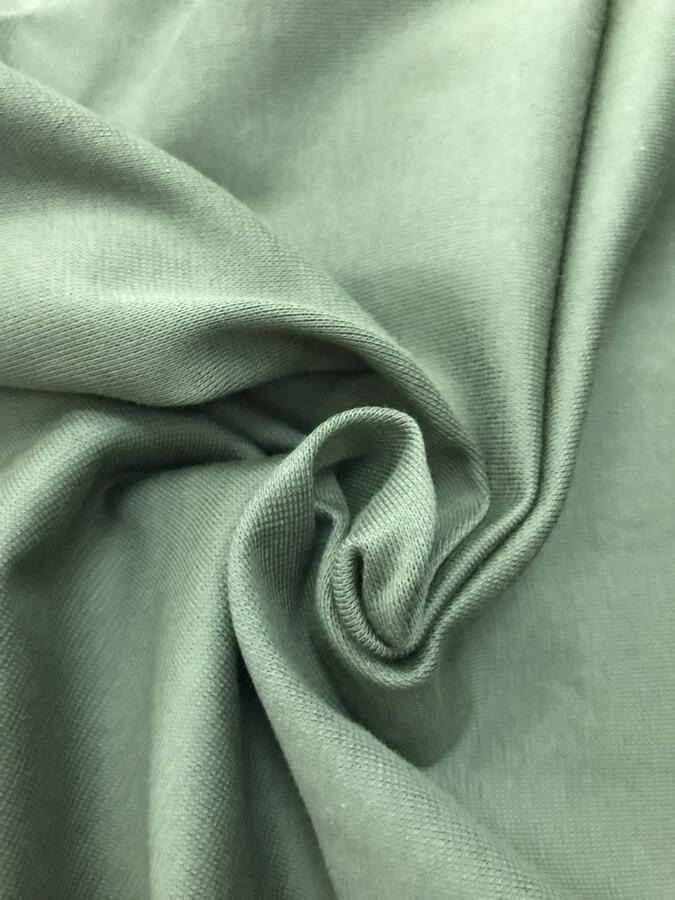 Maglina Jersey cotone BIOLOGICO verde