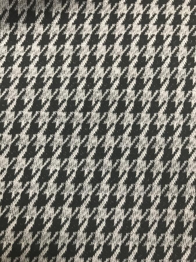 Maglina Jersey BIO pied de poule nero/bianco
