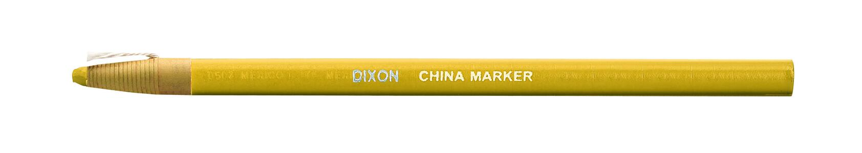 DIXON CHINA MARKER GIALLO