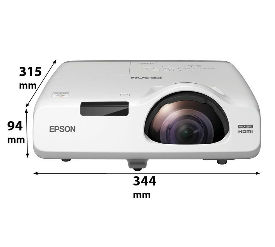 Epson EB-535W - Videoproiettore ad ottica corta