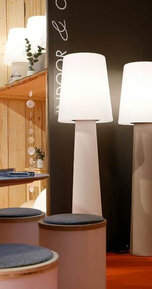 Lampada da Terra No. 1 LED h 160 cm di 8 Seasons Design, Varie Finiture - Offerta di Mondo Luce 24