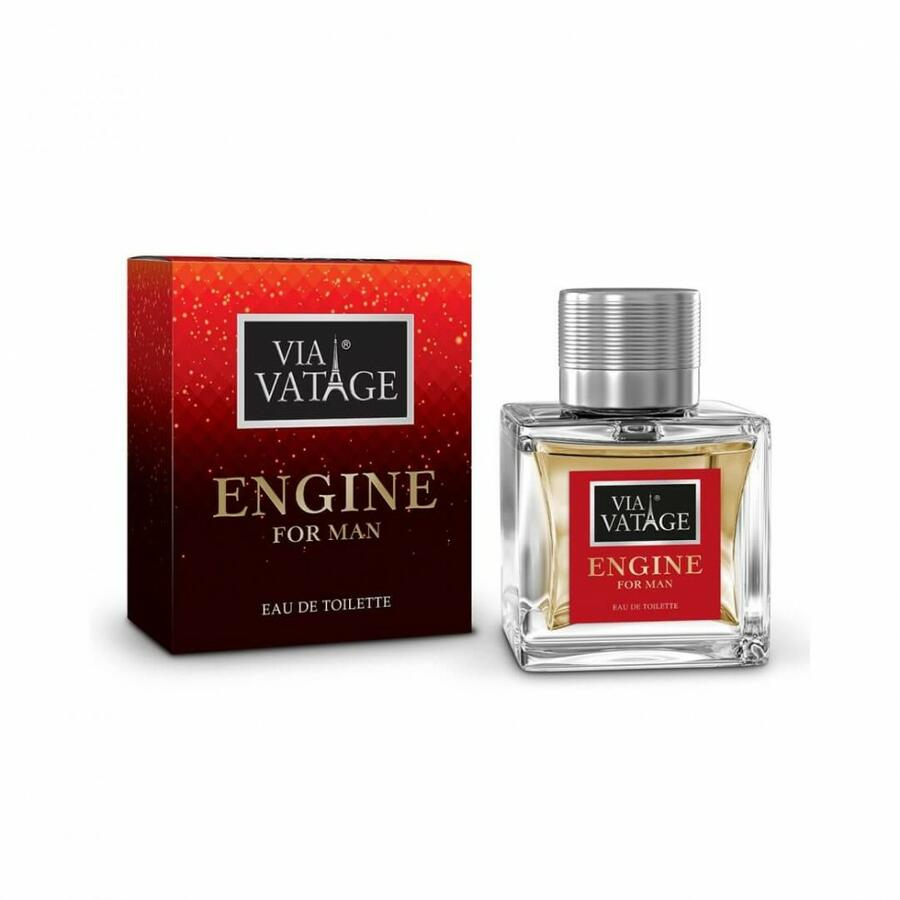 "VIA VATAGE ""ENGINE"" EAU DE TOILETTE PROFUMO UOMO 100 ML"