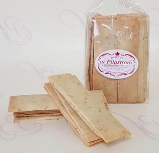 Pilastroni - Crackers Paleo al rosmarino