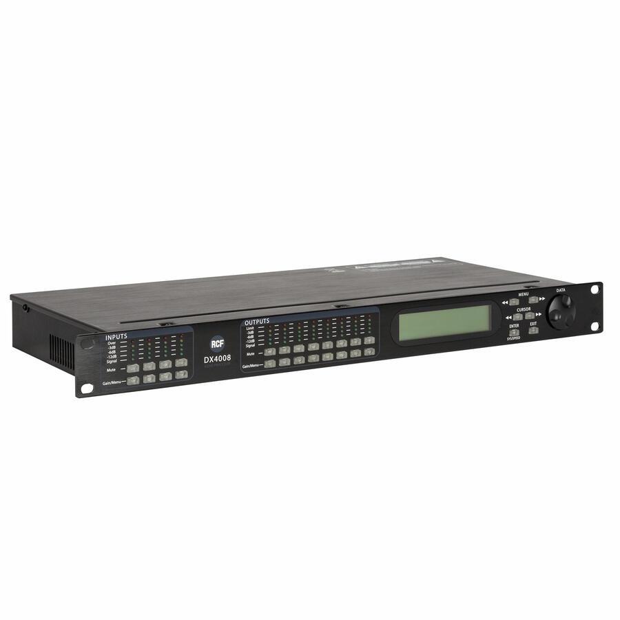 RCF DX 4008 PROCESSORE DIGITALE 4 INGRESSI 8 USCITE