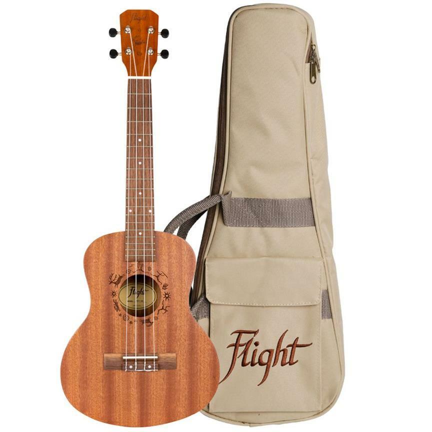 Flight: NUT310 Sapele Tenor Ukulele With Bag