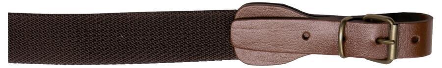 Bretella per fucile in tessuto colore marrone mm.30
