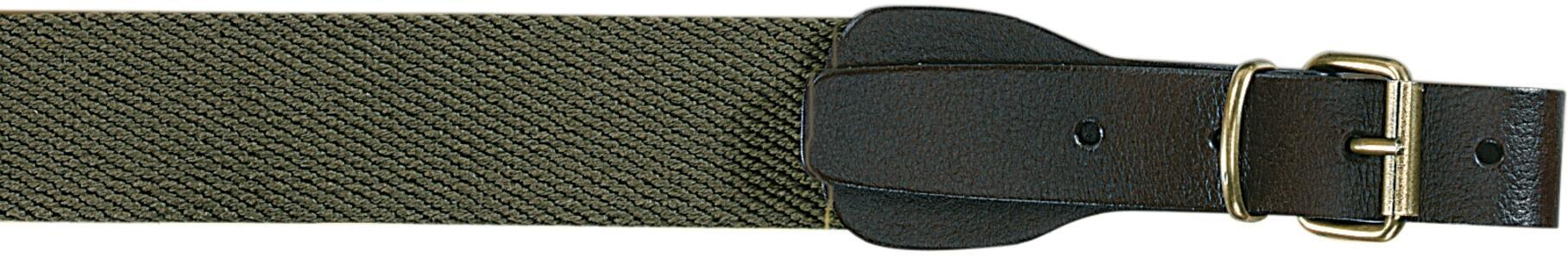 Bretella per fucile in tessuto colore verde militare mm.30