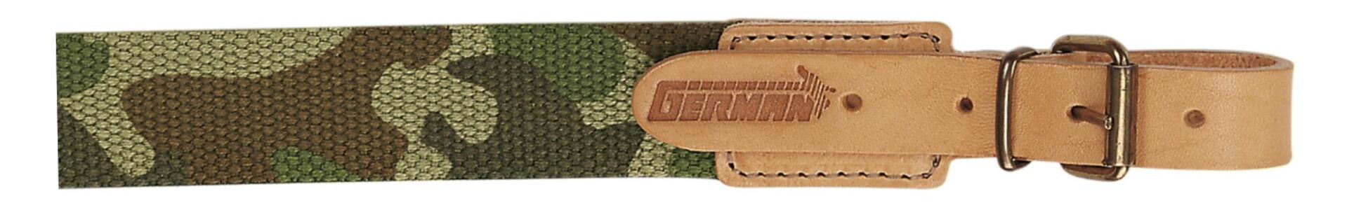 Bretella per fucile in tessuto colore mimetico mm.30