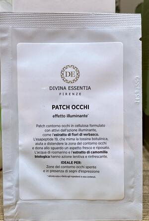 Patch occhi illuminante