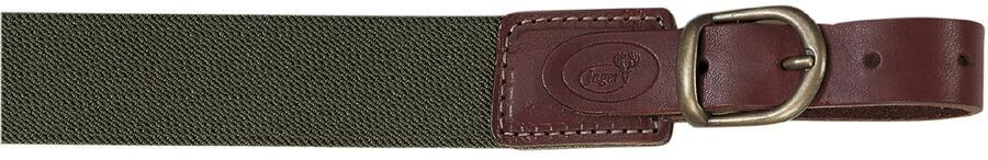 Bretella per fucile in tessuto elastico colore verde militare mm.30