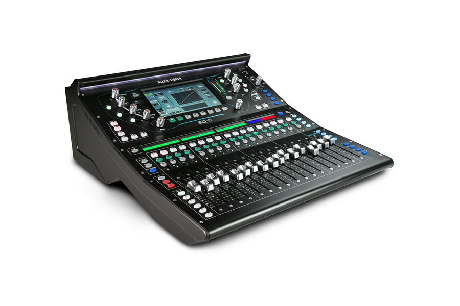 Allen&Heath SQ-5 - Mixer digitale 48 canali / 36 bus