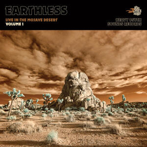 EARTHLESS    -LIVE IN THE MOJAVE DESERT  VOL.1  2LP / DIGIPACK