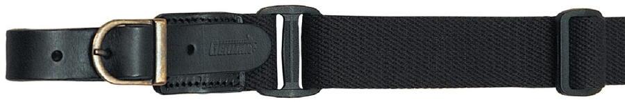 Bretella per fucile registrabile in tessuto colore nero mm.30