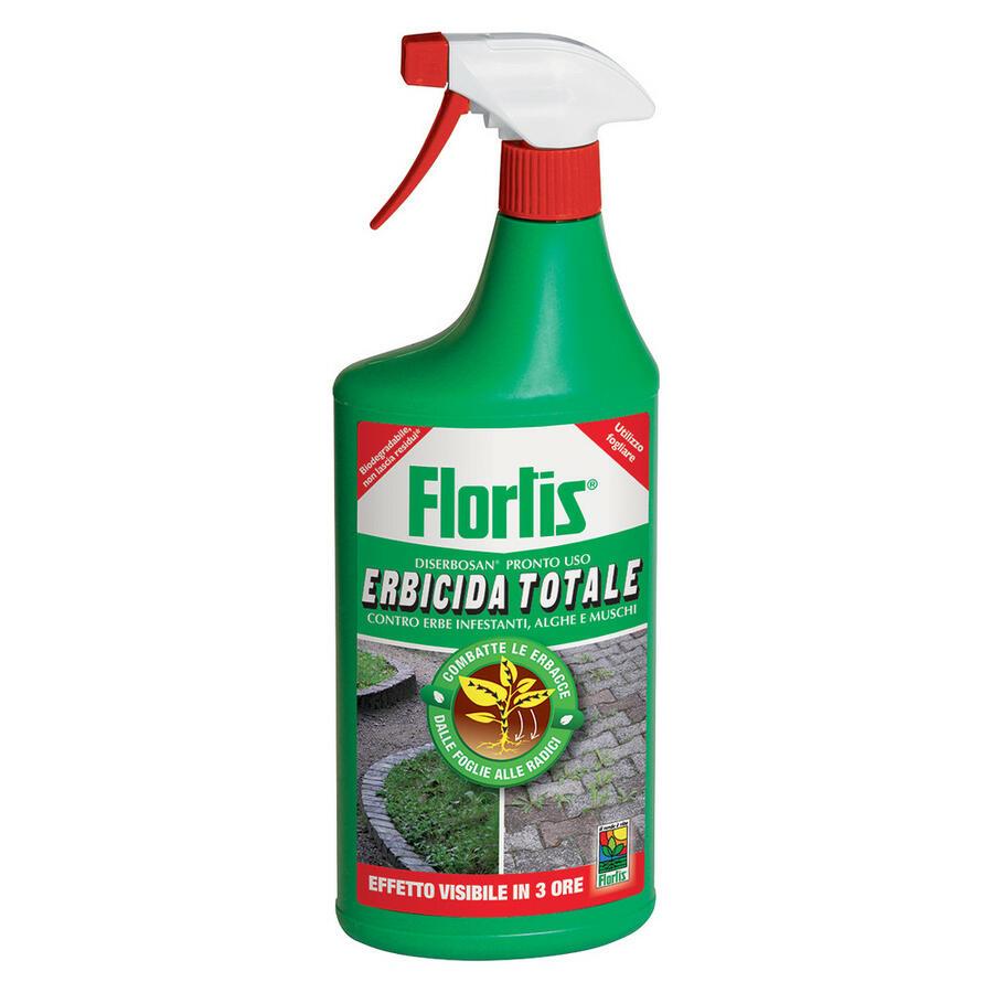 Erbicida Diserbosan Pronto all'uso 1 L Flortis