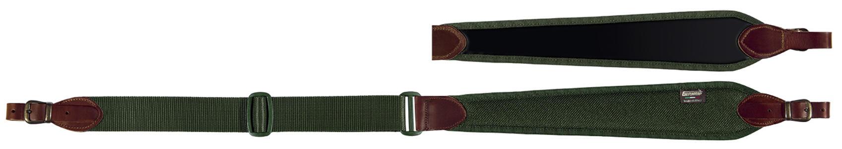 Bretella per carabina registrabile cm. 90>110 colore verde militare