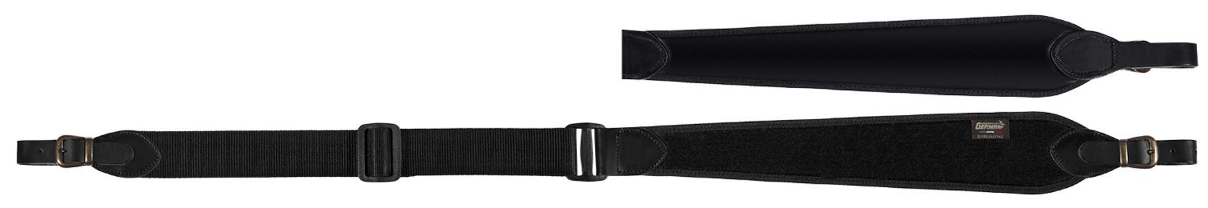 Bretella per carabina registrabile cm. 90>110 colore nero