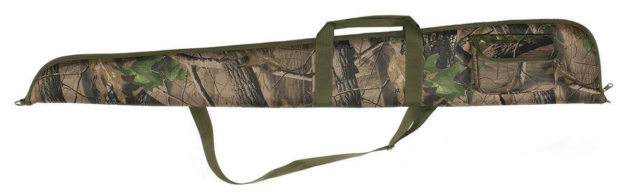 Fodero per fucile in tessuto di poliestere 600 D mimetico con cerniera fino alla punta cm.130
