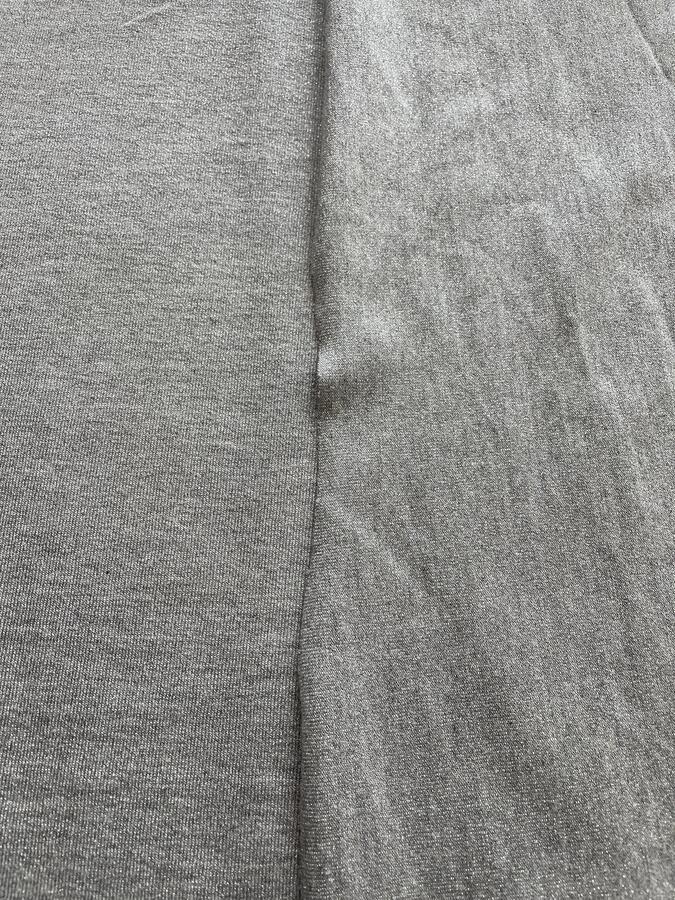 Maglina Jersey cotone lurex grigio scuro
