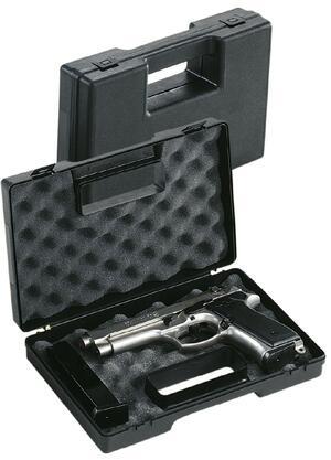 Valigetta in polipropilene per pistole con spugna bugnata cm.27x17x6