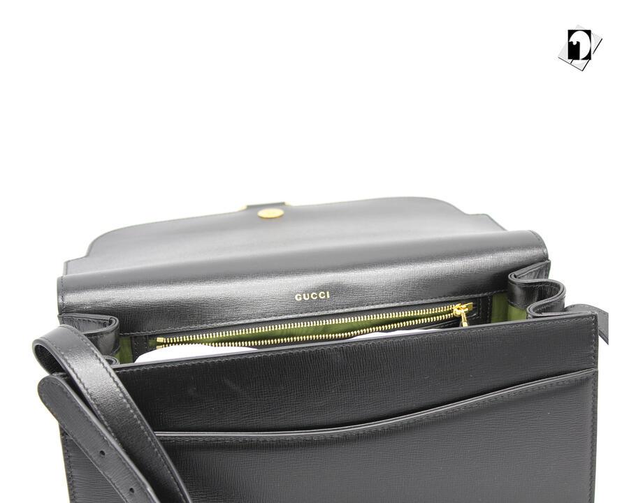 Borsa a spalla Gucci da Donna in 2 colori F53805