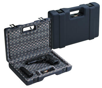 Valigetta in ABS per pistole imbottitura rivestita in velluto cm.35,3x22,2x7 con combinazione